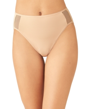 Wacoal Women's Keep Your Cool High-cut Brief Underwear 879378 In Sand
