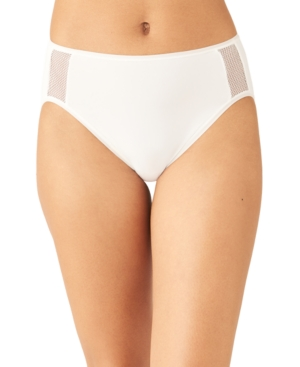 Wacoal Women's Keep Your Cool High-cut Brief Underwear 879378 In White