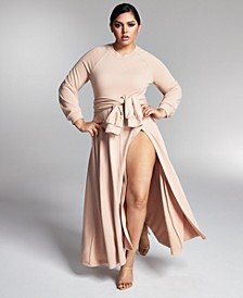 Zerina Akers for Solid Maxi Dress, Created for Macy's
