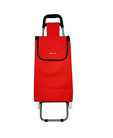 """Wanderer 2.0 38"""" Collapsible Wheeled Shopping Cart"""