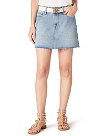 The Jenny Cotton Denim Mini Skirt