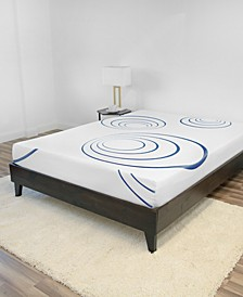 8-Inch Gel-infused Memory Foam Mattress-In-A-Box- Twin