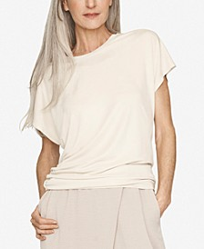 Ruched-Side Top