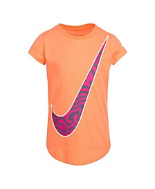 Little Girls Victory Fill T-shirt