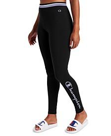 Women's Authentic Logo Performance Leggings