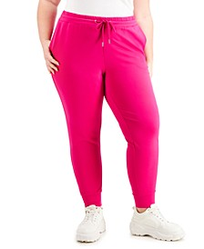 Plus Size Tailored Pull-On Jogger Pants Created For Macy's
