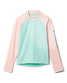 Big Girls Sandy Shores Long Sleeves Sunguard Shirt