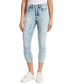 Super High Cropped Skinny Jeans