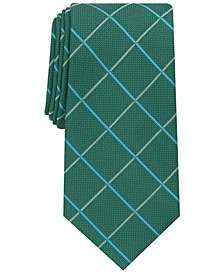 Men's Baker Windowpane Tie, Created for Macy's