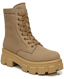Women's Dane Canvas Lug-Sole Booties