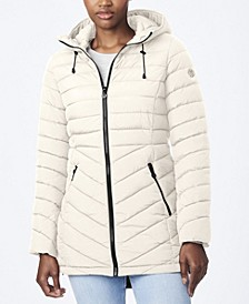 EcoPlume Quilted Micro Touch Coat