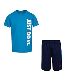 Toddler Boy Just Do It Top and Short Set