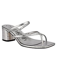 Women's Becca Slip-On Strappy Dress Sandals