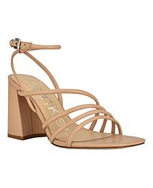 Women's Quen Strappy Heel Dress Sandals