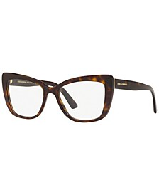 DG3308 Women's Cat Eye Eyeglasses