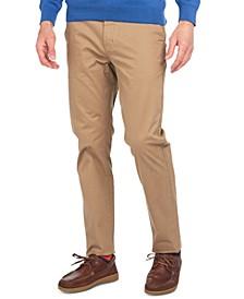 Men's Neus Regular-Fit Performance Chino Pants