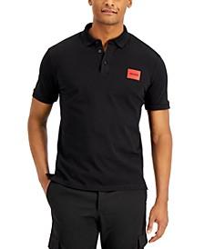 Boss Men's Dereso212 Slim-Fit Polo Shirt in Black