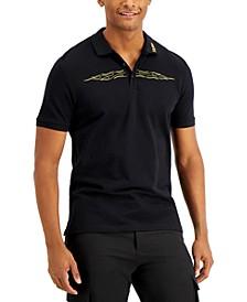 Boss Men's Durchin Flame Polo Shirt, Created for Macy's