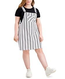 Trendy Plus Size Printed Skirtalls