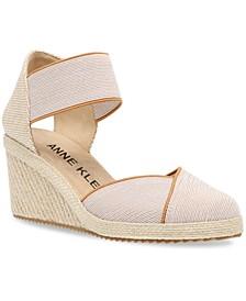 Zoey Strappy Espadrille Wedge Sandals