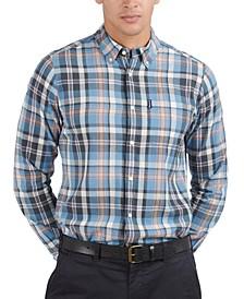 Men's Madras Plaid Shirt