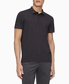 Men's Liquid Touch Grid Polo Shirt