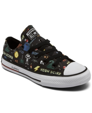 Converse LITTLE BOYS GAMER CHUCK TAYLOR ALL STAR CASUAL SNEAKERS FROM FINISH LINE