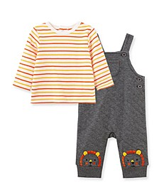 Baby Boys Lion Overall Set