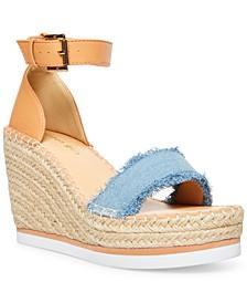 Annabelle Platform Wedge Sandals