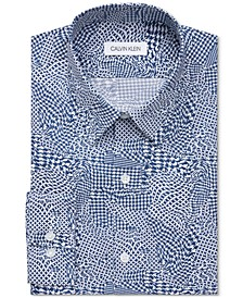 Men's Stain Shield Extreme Slim-Fit Wrinkle-Free Stretch Dress Shirt