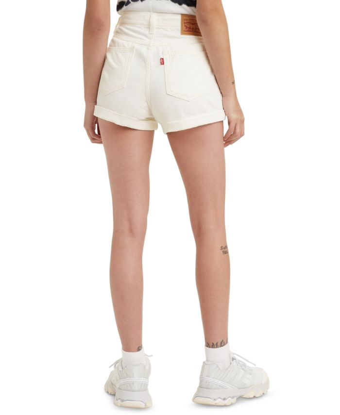 Levi's Denim Mom Shorts  & Reviews - Shorts - Juniors - Macy's