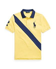 Big Boys Big Pony Cotton Mesh Polo Shirt