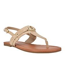 Women's Leedia Thong Flat Sandals