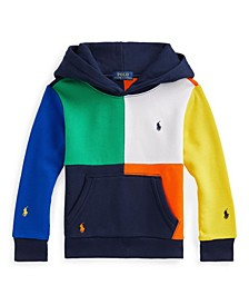 Little Boys Color Blocked Fleece Hoodie