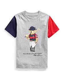 Little Boys Polo Bear Cotton Jersey Tee