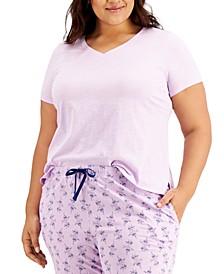 Plus Size Sleep T-Shirt, Created for Macy's
