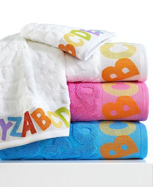 "Kassatex CLOSEOUT! Bambini ABC 16"" x 28"" Hand Towel"
