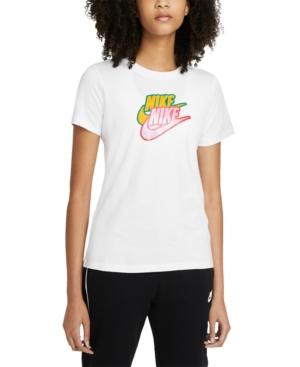Nike Cottons PLUS SIZE SPORTSWEAR COTTON LOGO T-SHIRT