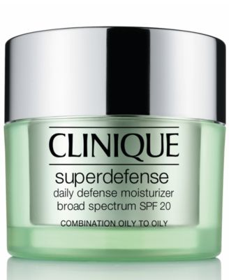 Superdefense Daily Defense Moisturizer Broad Spectrum SPF 20 Skin Types 3/4, 1.7 fl. oz.