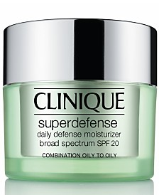 Clinique Superdefense Daily Defense Moisturizer Broad Spectrum SPF 20 Skin Types 3/4, 1.7 fl. oz.