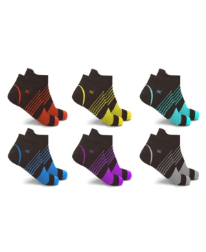 Men's and Women's Ultra V-Striped Ankle Compression Socks
