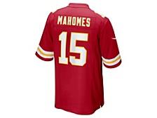 Kansas City Chiefs Men's Super Bowl LV Participant Patch Game Jersey - Patrick Mahomes