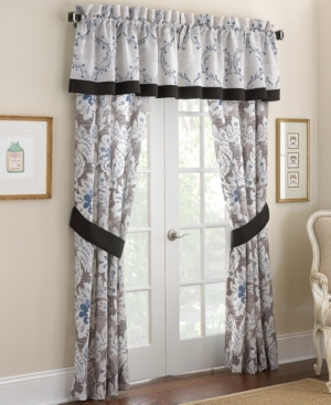 Closeout Waterford Pair of Emerson 42 x 84 Window Panels Bedding