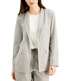 Organic Open-Front Jacket, Regular, Petite & Plus