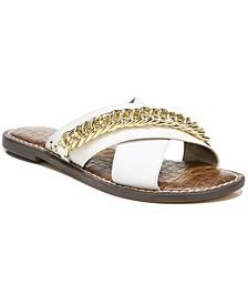 Women's Gabrie Crisscross Chain Sandals