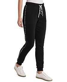 Jenn Striped-Side Jogger Pants, Created for Macy's