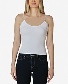 Juniors' Double-Bungee Seamless Crop Top
