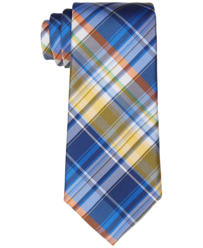 Tommy Hilfiger Men's Nantucket Classic Madras Plaid Tie   & Reviews - Ties & Pocket Squares - Men - Macy's