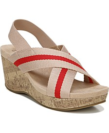 Dream Big Strappy Wedge Sandals