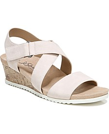 Sincere Strappy Wedge Sandals